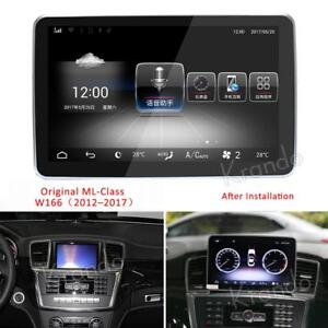 Android 10 Car GPS Radio Stereo Navi For Mercedes Benz ML GL Class 2012-2015