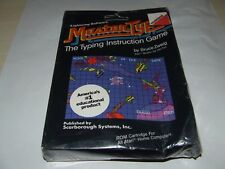 MASTER TYPE by SCARBOROUGH SYSTEMS (1981) ATARI COMPUTER RARE LIKE THIS SEALED!