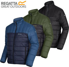 Regatta Mens Puffer Ice Jacket IV Insulated Durable Coat Mid Weight Jacket