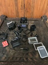 GoPro Hero4 Action Accessories Lot Batteries Charger + No Camera