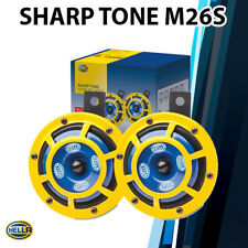 (Pair) Hella Sharp Tone Truck Car Horn Set 3BB 922 000-731 115dB 12V BMW WRX EVO