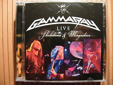 CD GAMMA RAY/Live Skeletons & mayesties – album OVP