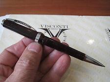 Visconti Wall Street deep red celluloid mechanical pencil 0.7mm