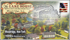 17-280, 2017,Woodridge NY, 100th Anniversary, Event Cover, Pictorial Cancel,