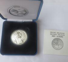 BELGIQUE - 10 Euro -2007 50 ans Traité de Rome (TIRAGE 15 186) ARGENT BE PROOF