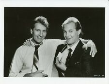 ED O'NEILL RITCH SHYDNER PORTRAIT MARRIED WITH CHILDREN ORIG 1987 FOX TV PHOTO