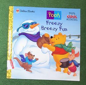 Winnie the Pooh FREEZY BREEZY FUN Golden Books Walt Disney AA Milne 1st ed 2000