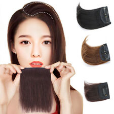 Short Clip in Hairpiece 100% Human Hair One Piece Toupee Base for Thicker Hair