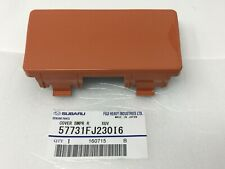 2013-2017 Subaru Crosstrek Rear Tow Hitch Cover Orange Pearl 57731FJ230I6 OEM