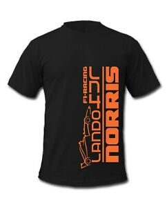 F1 Lando Norris 4 Grand Prix Formula 1 Racing T-Shirt