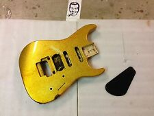 90's Charvel Japan Deluxe 375 Dinky Electric Guitar Body Metallic Sparkle