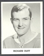 1965 COCA-COLA COKE RICHARD DICK DUFF NM MONTREAL CANADIENS HOCKEY CARD