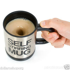 Tazza che gira da sola scioglie zucchero senza cucchiaio MUG intelligente Self