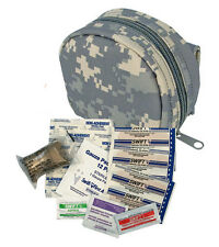 Emergency 1st Aid Kit for Survival - MOLLE Army Digital - Includes Carry Pouch