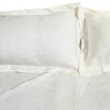 Pure Linen Sheets set 100% Natural Organic Bedding Hypoallergenic Anti-static