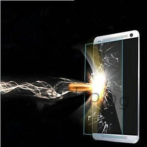 Glossy Ultra HD Clear Tempered Glass Screen Protector Guard Films For HTC ONE M8