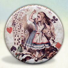 Alice and The Flying Cards Pocket Mirror tartx