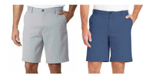NEW!! Izod Men's Saltwater Wash Flat Front Stretch Shorts Variety #547
