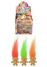 6 12 36 or 72 Mini Trolls Mixed Colours Ideal Party Bag Toys Troll Pencil Topper
