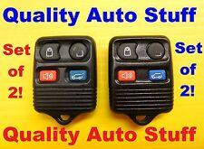 Set Of 2 Ford Lincoln Mercury Keyless Entry Remote Fob CWTWB1U331 Hatch Lot 2X