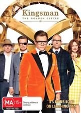 KINGSMAN THE GOLDEN CIRCLE DVD NEW & SEALED- FREE POSTAGE!