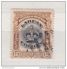 Labuan Colony 1902 18C SG125 Fine Used BC109