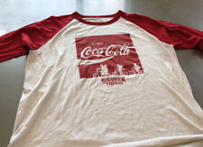 Mens Stranger Things Coca-Cola Baseball Shirt Size Xl