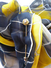 Krawatten-Nadel / Anstecknadel Knoten mit Brillant 585er Gelbgold