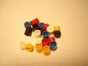 10 PAIR H.O. SCALE REPRO PLASTIC RIM SETS AURORA G+/TURBO/SRT/SG+/AFX #1