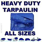 ALL Sizes Of Heavy Duty Tarpaulin Waterproof Cover Tarp Ground Camping Sheet