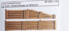 Artmaster 80.595 Alte Holzkaimauer / Kaimauer H0 1:87 Neu / OVP