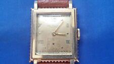 Vintage Jules Jurgensen 17j Men's Watch 14K Gold Case