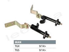 2x Additional Truck Door Locks Security Anti-Theft for MAN TGX TGS 09/2014 >