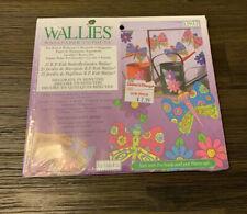 Wallies Wet & Stick Removable Vinyl Wallpaper Cutouts - KP Kids Butterfly Garden