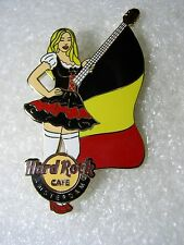 AMSTERDAM ,Hard Rock Cafe Pin,Dutch MilkMaid Super Sexy girl with Flag,BELGIUM