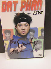 DAT PHAN LIVE DVD Signed cover and DVD!