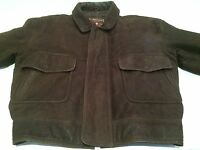 Men's Andrew Marc Authentic American Classic Styling Dark Brown Leather Jacket