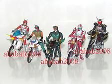 Bandai Masked Rider Machines Chronicle part.5 gashapon figure ( set of 5 Pcs) A