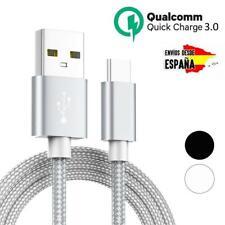 Cable micro USB universal trenzado para carga rápida y transferencia de datos