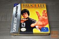 Bruce Lee: Return of the Legend (Game Boy Advance, GBA) FACTORY SEALED! - RARE!