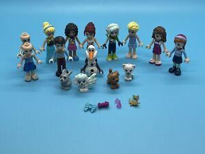 LEGO FRIENDS MINI DOLLS. BUNDLE. DOLLS & DOGS.