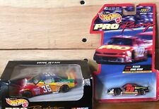 1998 & 1997 Hot Wheels NASCAR PRO RACING #36 ERNIE IRVAN SKITTLES & #28 TEXACO