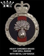 Royale Heavy Chromed Brass Car Badge - GRENADIER GUARDS REGIMENT SUPERB - B4.002