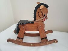 Handmade Minature Rocking Horse