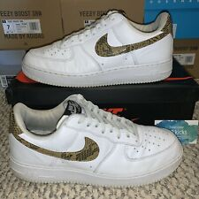 Nike Air Force 1 Low EOS Script Swoosh Pack White Black Red Sz 11-13 CK9257-100