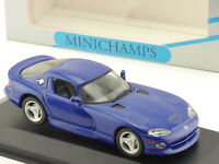 Minichamps 430144021 Dodge Viper Coupe 1993 blau EVP 1602-21-43