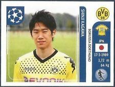 PANINI UEFA CHAMPIONS LEAGUE 2011-12- #405-BORUSSIA DORTMUND-SHINJI KAGAWA