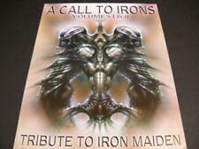 Iron Maiden Tribute Call To Irons I&Ii original 2-side Record Company Info Sheet