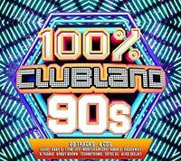 100 Clubland 90s [CD]