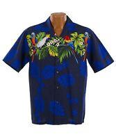 Classic Paradise Parrots Hawaiian Aloha Shirt